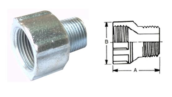 內外絲放大接頭、防爆管件、電管管件、接頭、電管配件