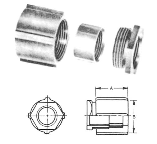 內絲由任管節、防爆管件、電管管件、接頭、電管管件、電管