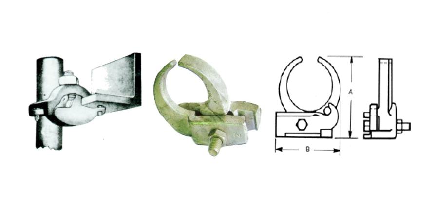 沿邊型 - P型管夾、電管管夾、電管角鐵、槽鐵、防爆管件、電管管件、電管、電線導管、接頭、電管配件、穿線盒、電管管件、電管