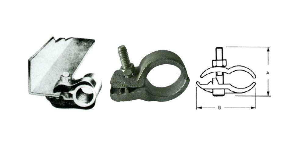 平行型 - P型管夹、电管管夹