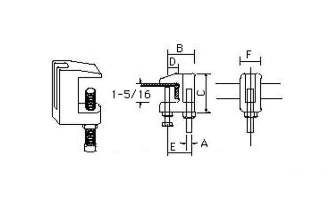 鑄鐵虎口夾、電管配件、穿線盒、電管管件、管件、接線盒