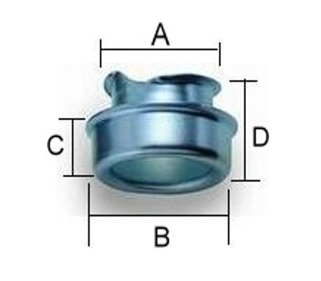 牙圈管端護套 S-FL、P型管夾、電管管夾、電管管夾、電管角鐵、槽鐵、防爆管件、電管管件、電管、電線導管、接頭、電管配件、穿線盒、電管管件、電管