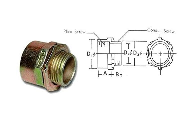 保曲佳軟管PZ4用盒接頭、電管、電線導管、密封接頭、電管配件、穿線盒、電管管件、電管、申芳