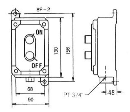 N5 (d2 G4) - SFE型耐壓防爆開關、P型管夾、電管管夾、電管管夾、電管角鐵、槽鐵、防爆管件、電管管件、電管、電線導管、接頭、電管配件、穿線盒、電管管件、電管