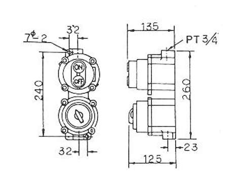 N14 (d2 G4) - SFE type FLAME-PROOF CONTROL SWITCH, fitting,connector,fitting,conduit fitting,shenfang