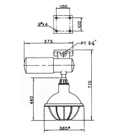 N1 (eG3) - SFW EXPLOSION PROOF LUMINAIRE,connector,fitting,conduit fitting,shenfang