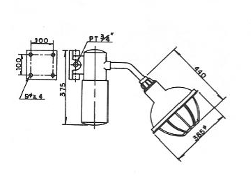 N2 (eG3) - SFW型安全增防爆照明燈具、電管管件、電管、電線導管、接頭、電管配件、穿線盒、電管管件、電管
