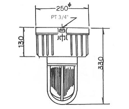 N9 (eG3) - SFW型安全增防爆照明燈具、電管管件、電管、電線導管、接頭、電管配件、穿線盒、電管管件、電管