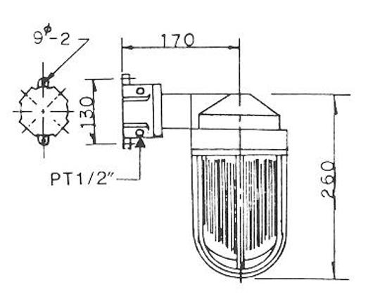N15(EG3)SFW型安全增防爆照明燈具、電管、電線導管、接頭、電管配件、穿線盒、電管管件、電管