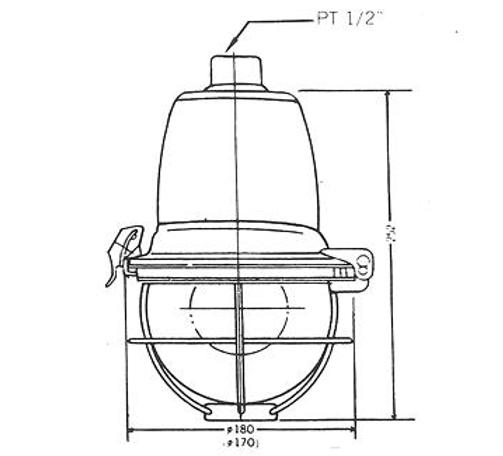 N16 (eG3) - SFW型安全增防爆照明燈具