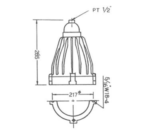 NL6(d2G4) - SFE型耐壓防爆照明燈具、電管、電線導管、接頭、電管配件、穿線盒、電管管件、電管