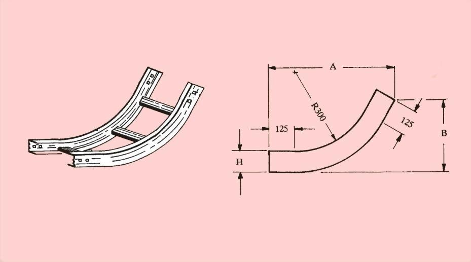 60度垂直上升接頭 - 電纜線架、電管管件、電管、電線導管、接頭、電管配件、穿線盒、電管管件、電管
