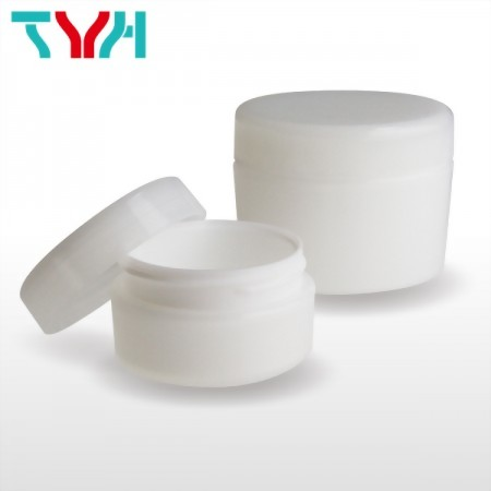 Bi-Injection Round PP Cream Jar in Single-wall for Cosmetics, Personal Care and Haire Care Products