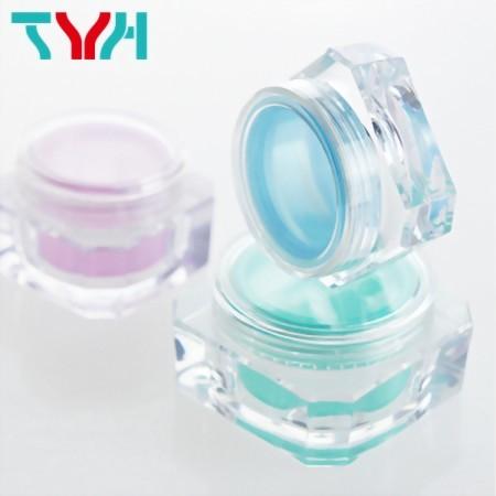 雙層鑽石形/八角形霜罐