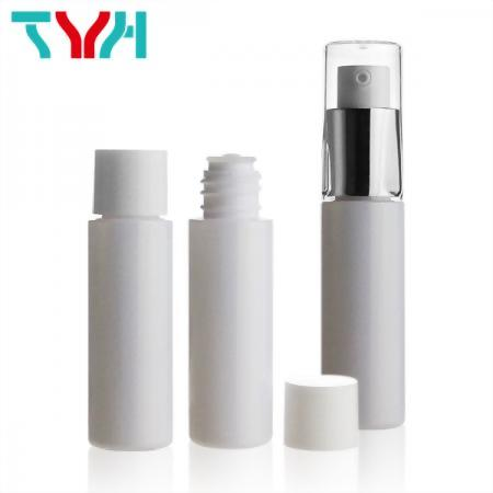 20ml 18/415 PETG Pearl Yellow Cylindrical Cosmetic Bottle in Single Wall | Ready Stock