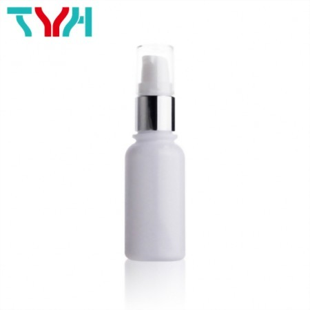 35ml 18/415 PETG White Boston Round Cosmetic Bottle in Single Wall | Ready Stock