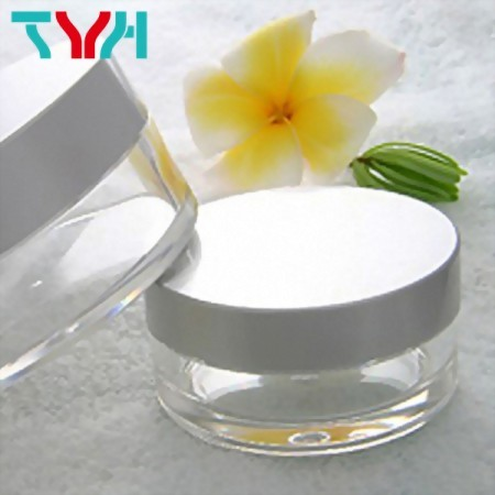 Round Loose Powder Container with Sifter