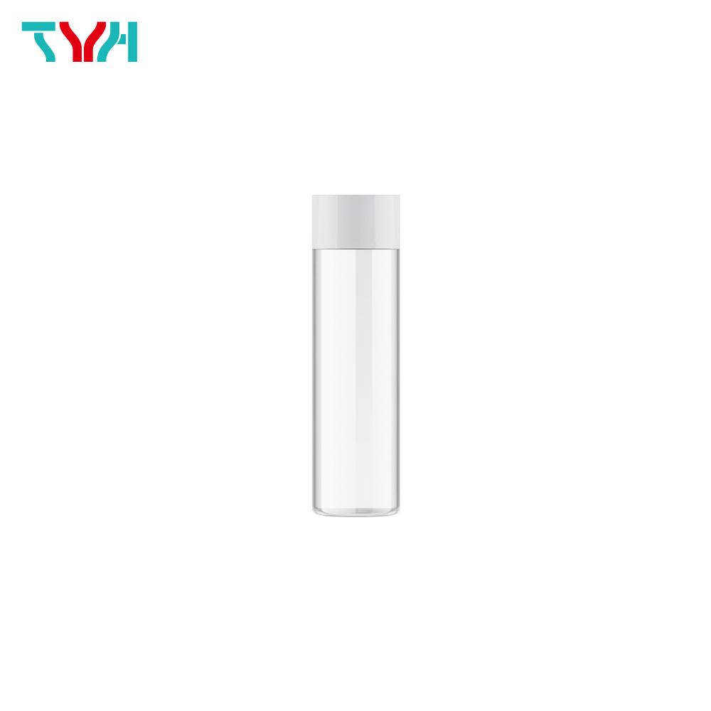75ml 18/415 PETG Empty Cylindrical Toner Bottle in Single Wall with Plug