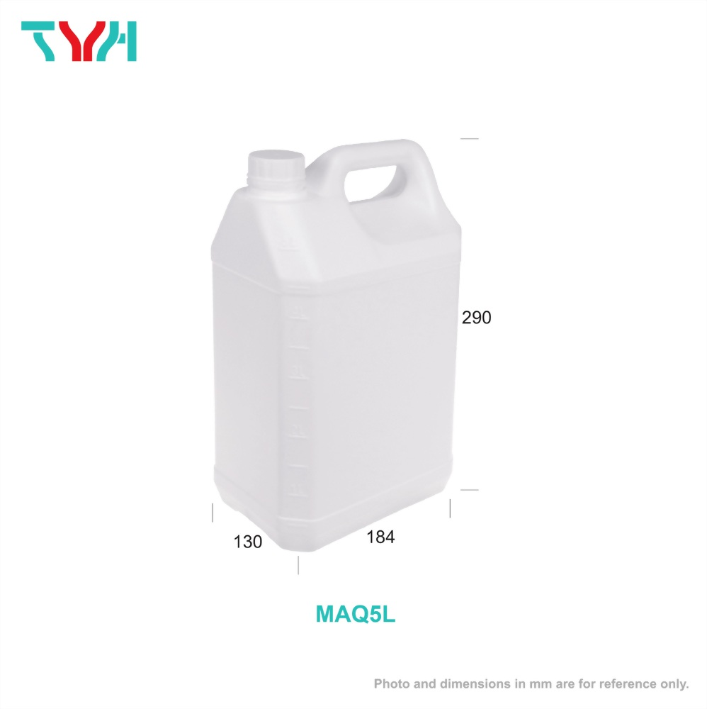 Square Diluted Alcohol Jerrycan