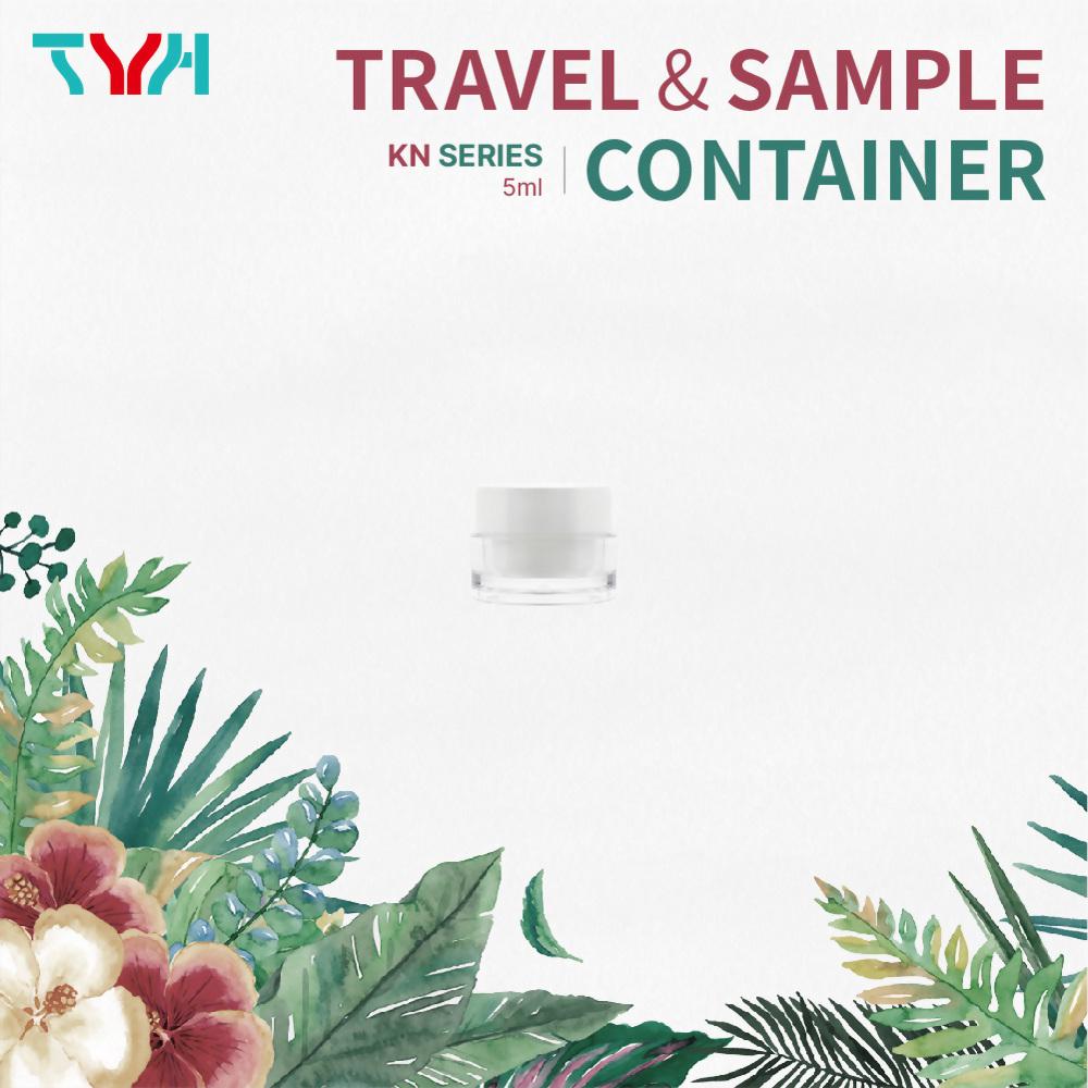 PMMA Acrylic Sample Jar