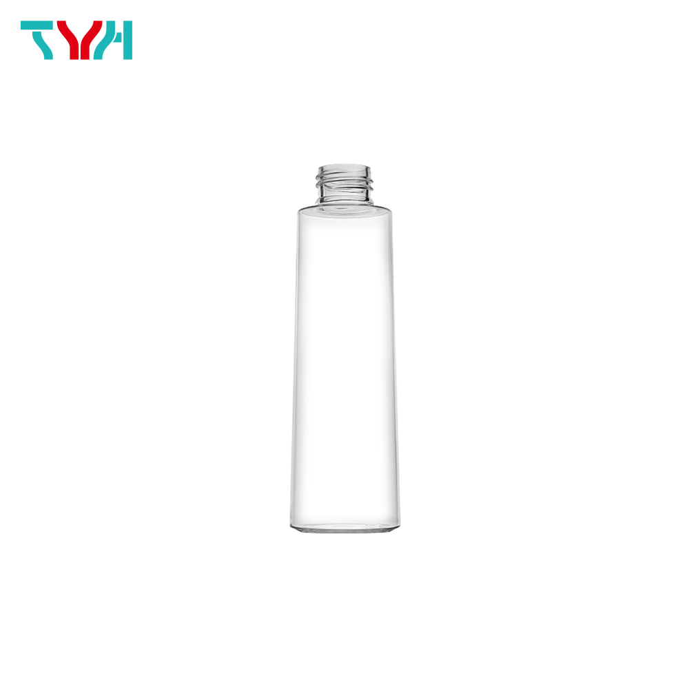 150ml 24/410 PETG Round Cone Cosmetic Bottle in Single Wall
