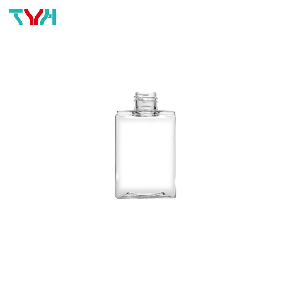 160ml 24/410 PETG Rectangle Cosmetic Bottle in Single Wall