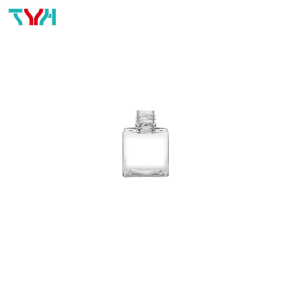 50ml 20/410 PETG Rectangle Cosmetic Bottle in Single Wall