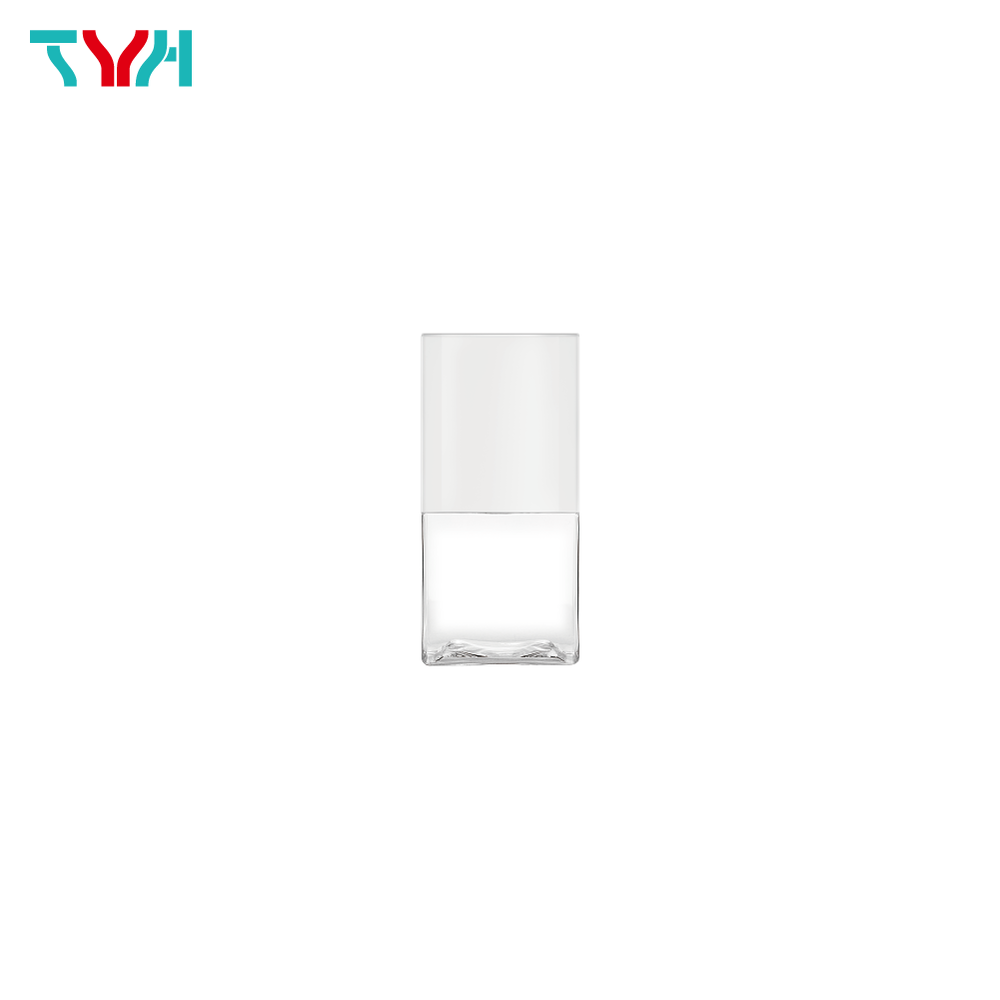 50ml 20/410 PETG Rectangle Cosmetic Bottle in Single Wall with Cap