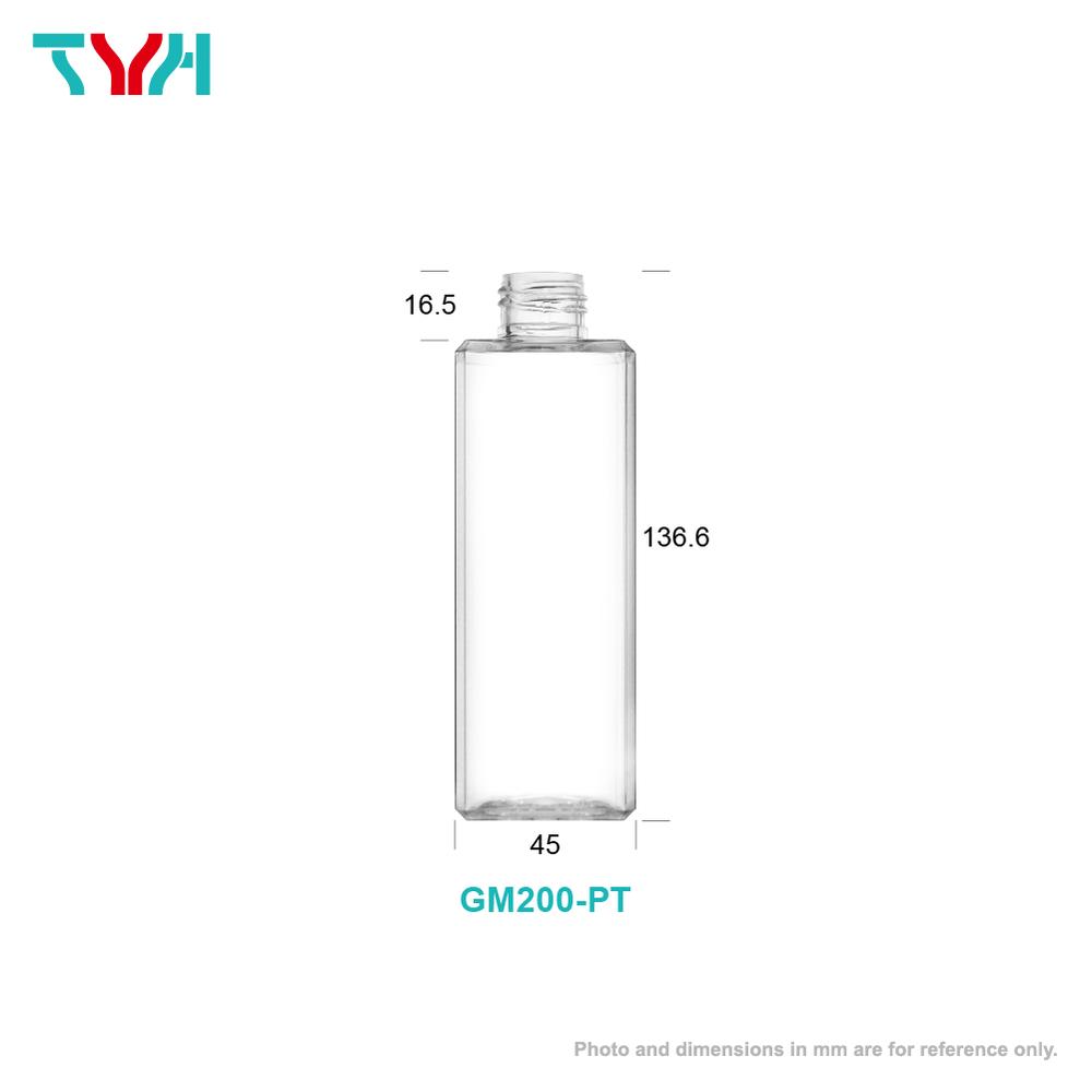 200ml Octagon Cosmetic Bottle