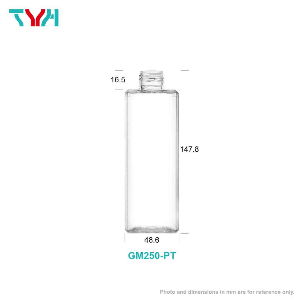 250ml Octagon Cosmetic Bottle