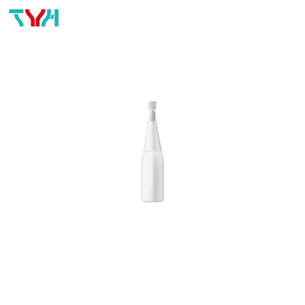 10ml LDPE Round Ampoule Bottle with Integrating Molding Nozzle and Cap
