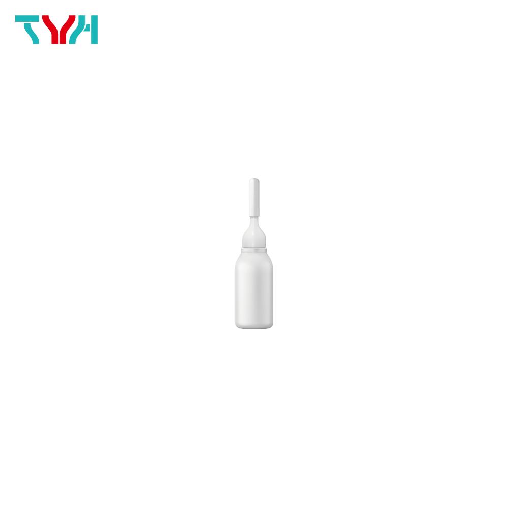 10ml LDPE Boston Round Ampoule Bottle with Nozzle Cap