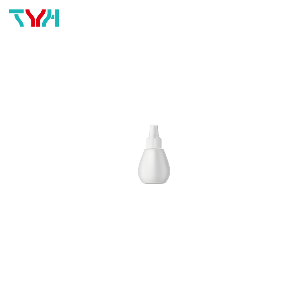 10ml LDPE Oval Ampoule Bottle with Nozzle Plug