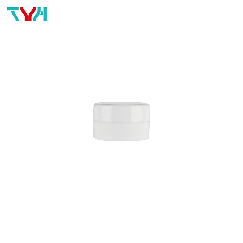 10ml PP Short Round Cream Jar in Single Wall