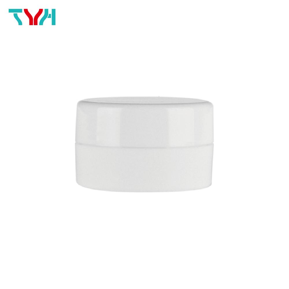 PP 單層矮圓形乳霜罐