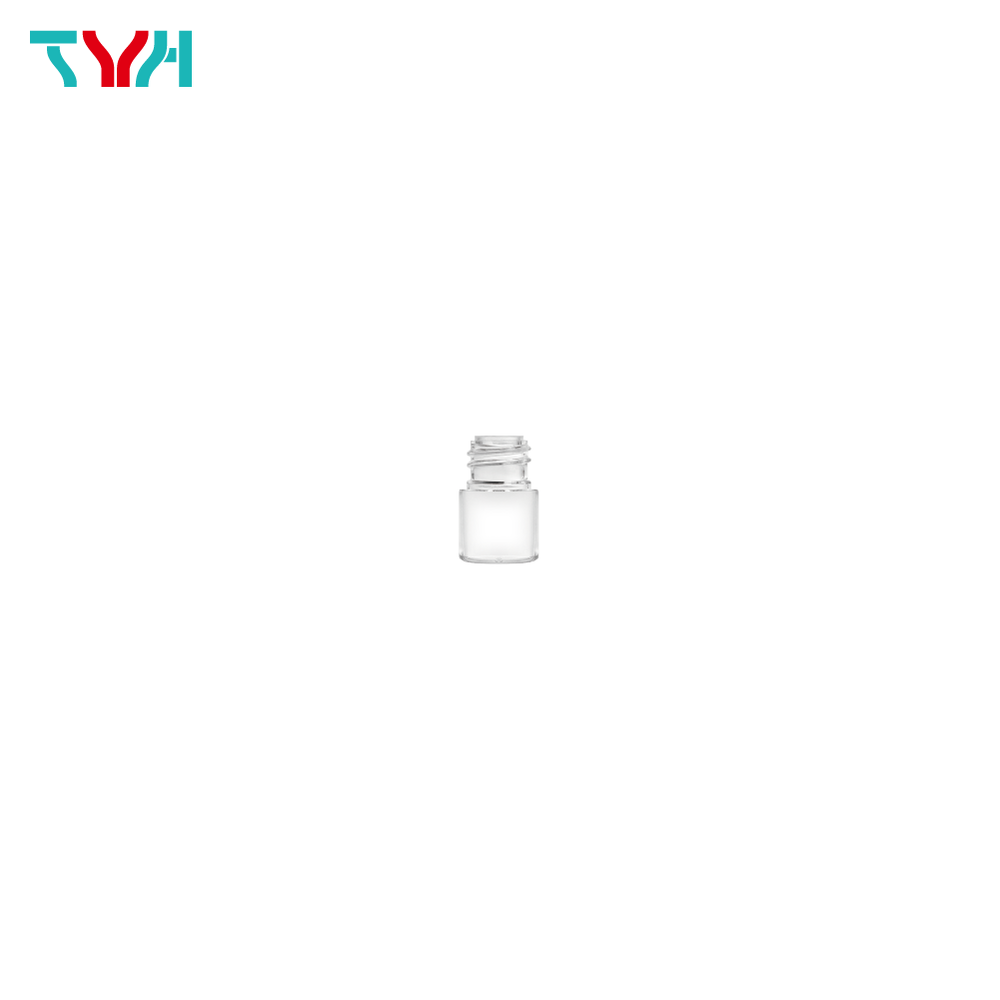 5ml 18/415 PETG Cylindrical Cosmetic Bottle in Single Wall