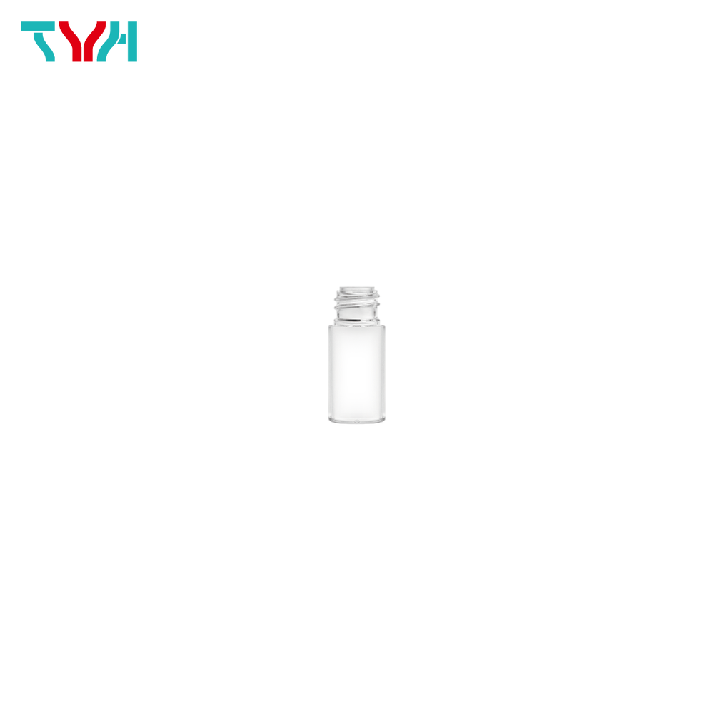 10ml 18/415 PETG Cylindrical Cosmetic Bottle in Single Wall