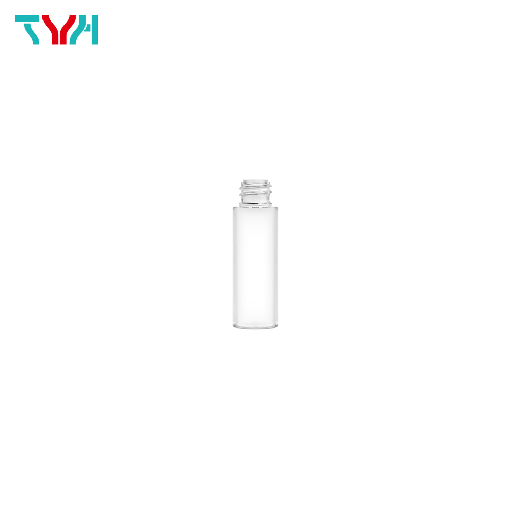 20ml 18/415 PETG Cylindrical Cosmetic Bottle in Single Wall