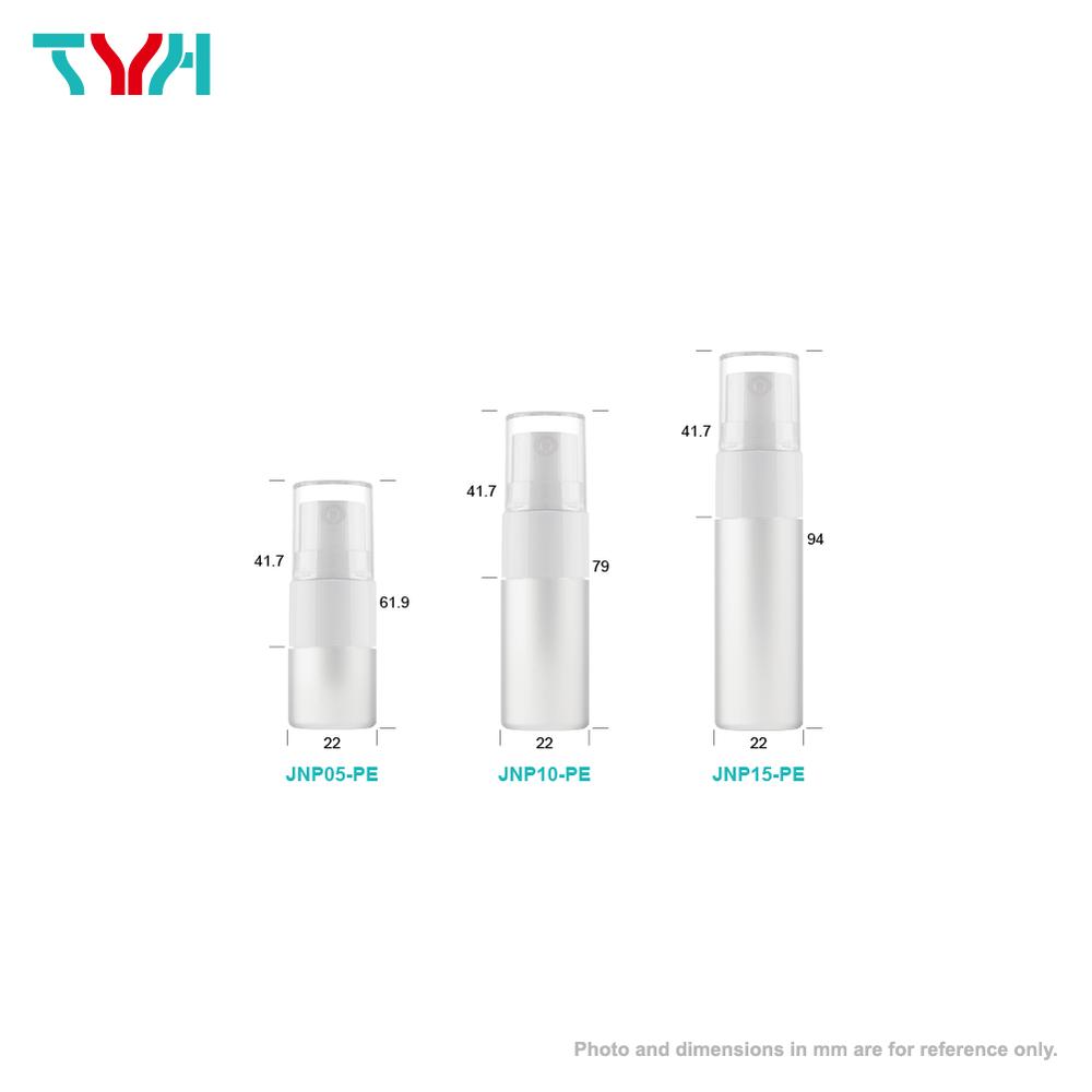 Cylindrical Cosmetic Bottle