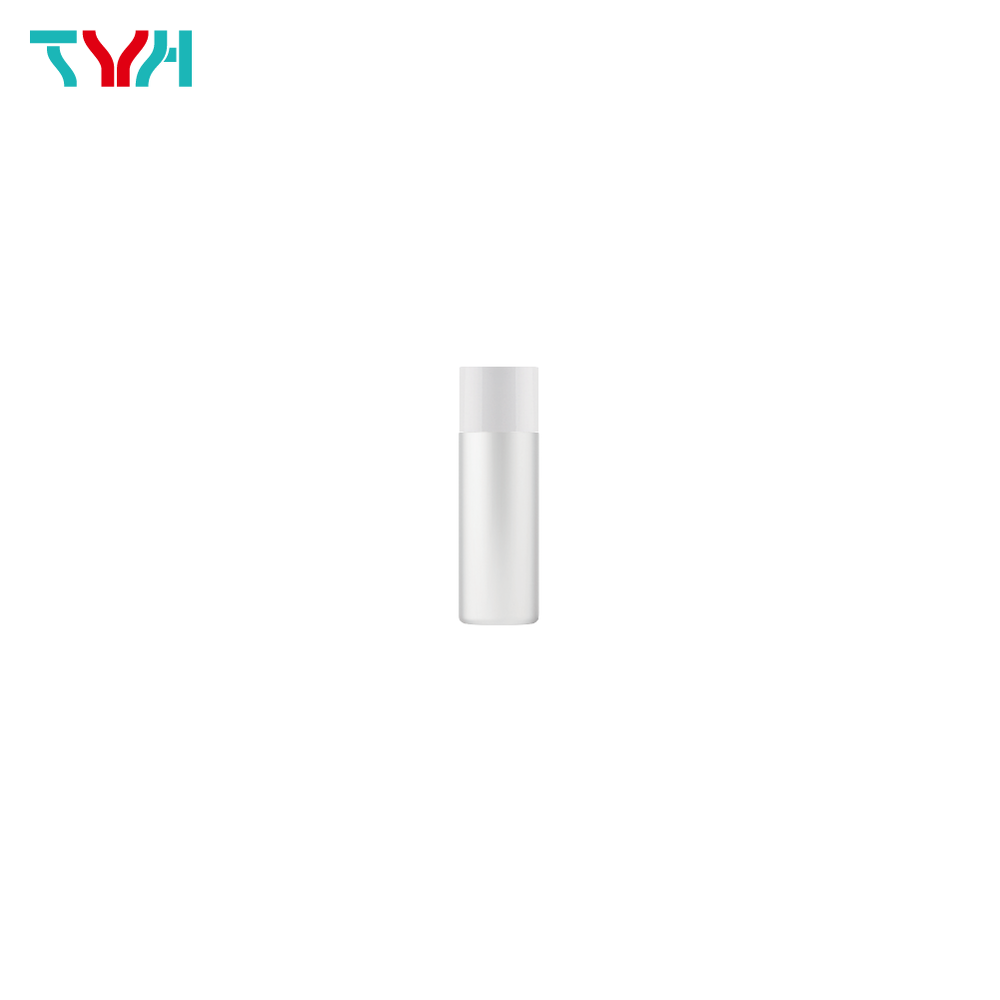 15ml 18/415 PE Cylindrical Cosmetic Bottle in Single Wall with Inner Plug and Short Screw Cap