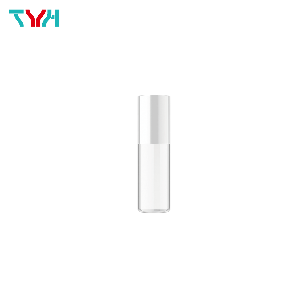 30ml 18/415 PETG Cylindrical Cosmetic Bottle in Single Wall with Inner Plug and Screw Cap