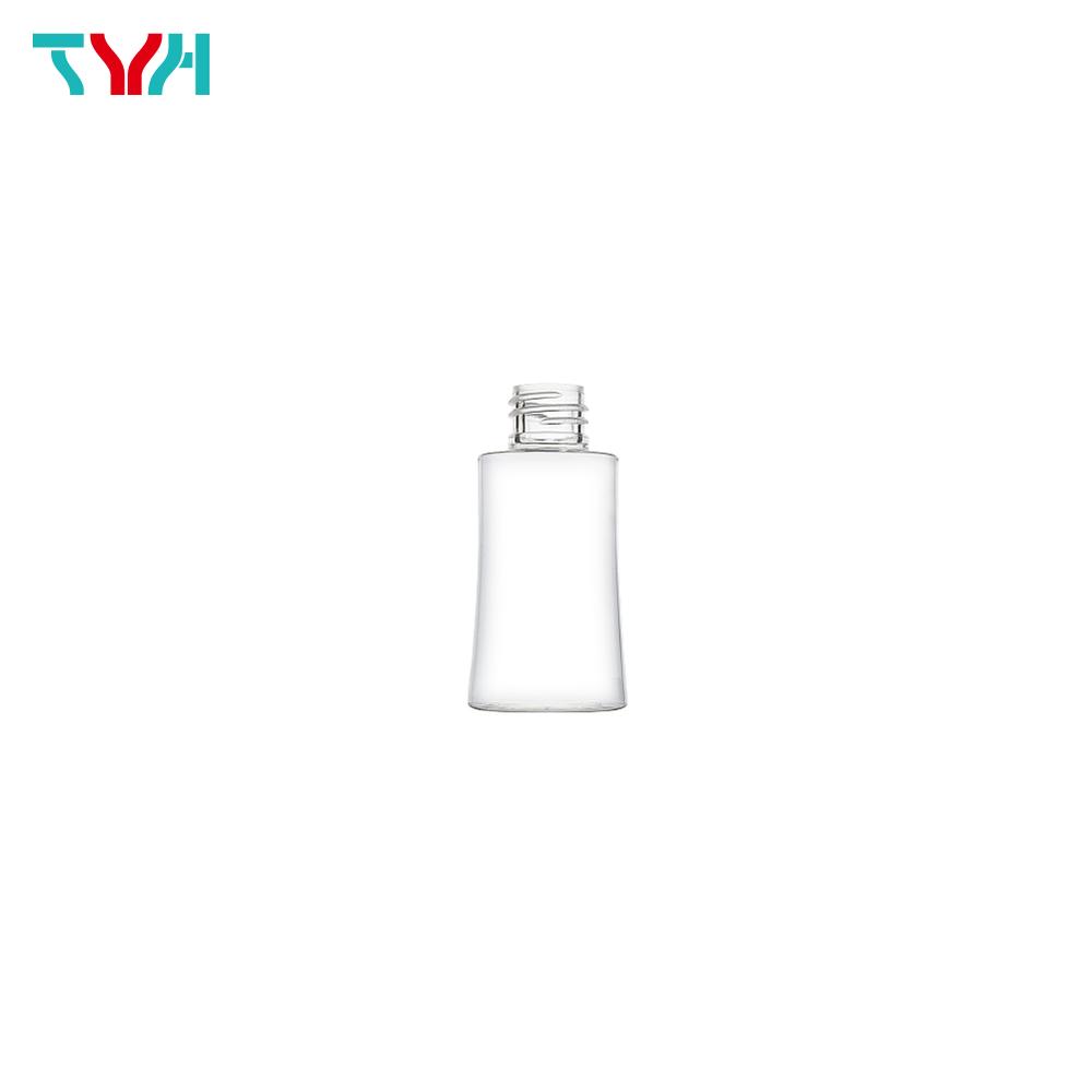 50ml 18/415 PETG Curve Cosmetic Bottle in Single Wall