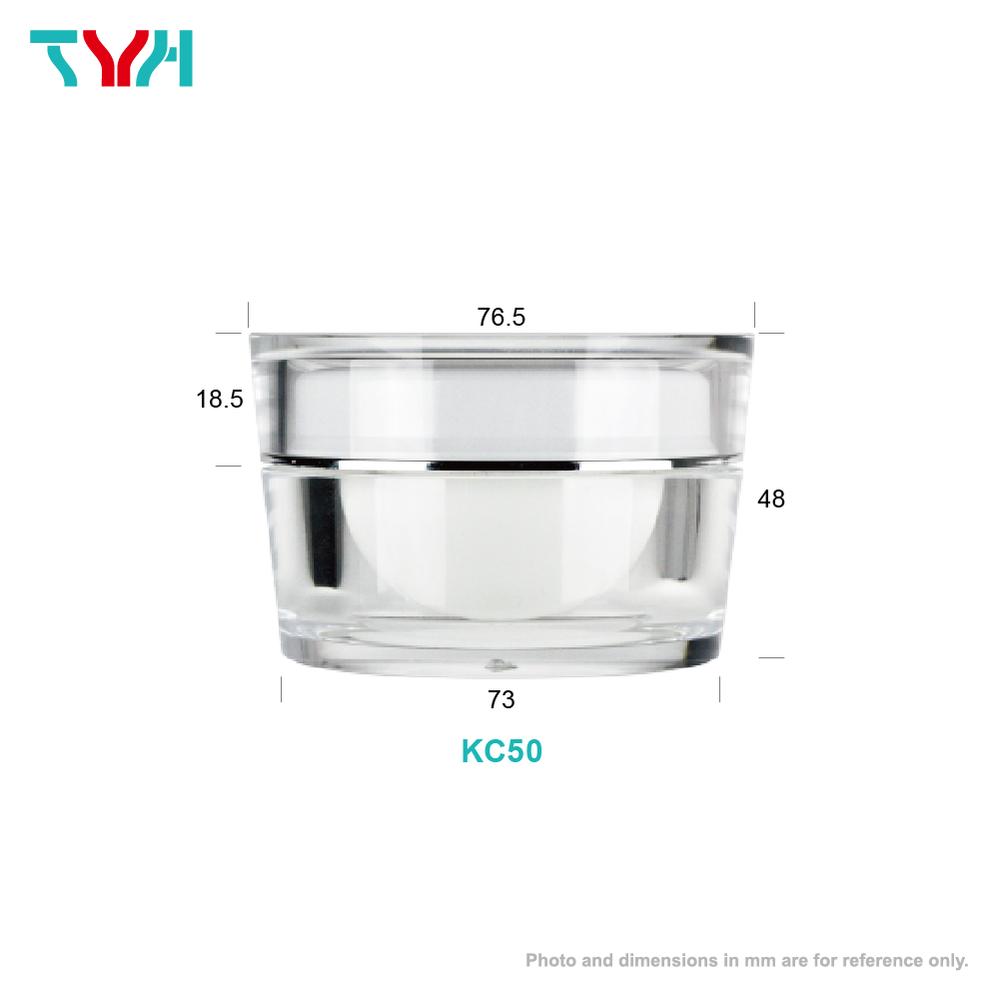 50ml Inverted Round Cone Cream Jar