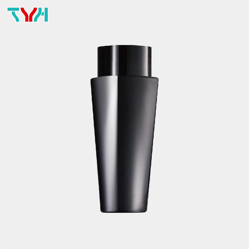 120ml 18/415 PETG Squircle Cone Cosmetic Bottle in Single Wall with Inner Plug and Screw Cap