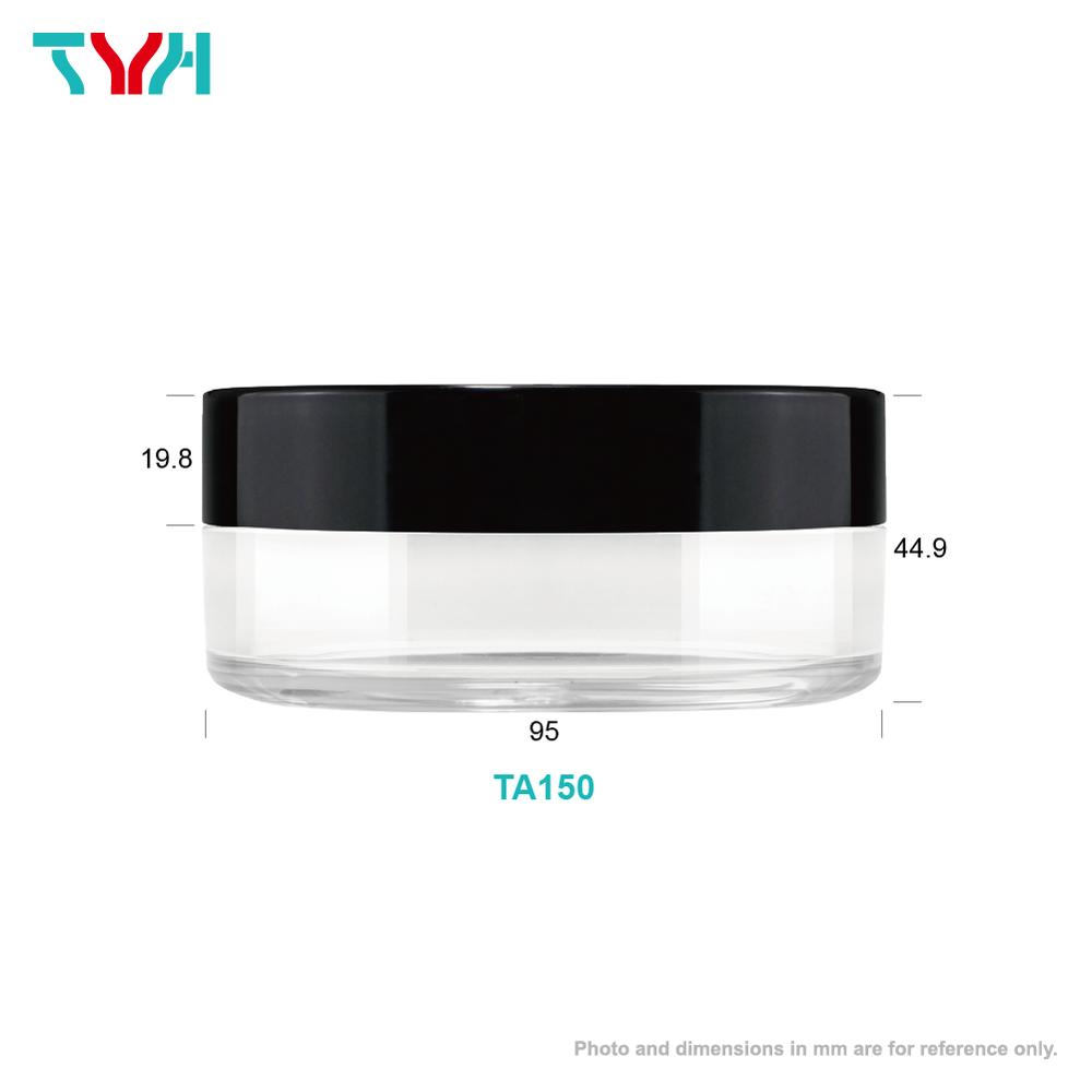 150ml PET Round Cream Jar in Single Wall