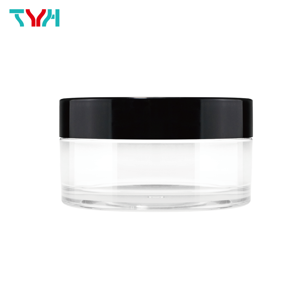 200ml PETG Round Cream Jar in Single Wall with Single Wall Cap