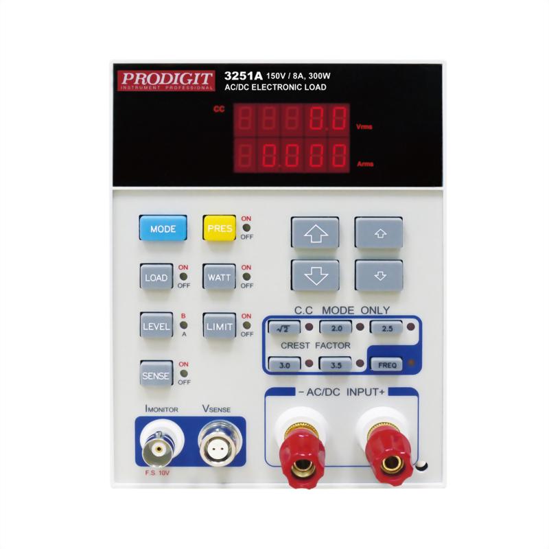 3251A AC & DC Electronic Load 150V, 8A, 300W