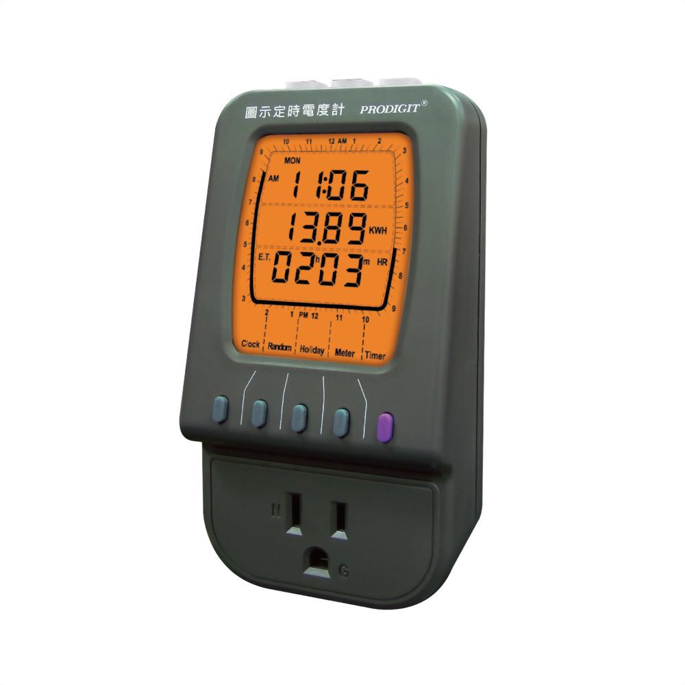 2045J 圖示定時電度計