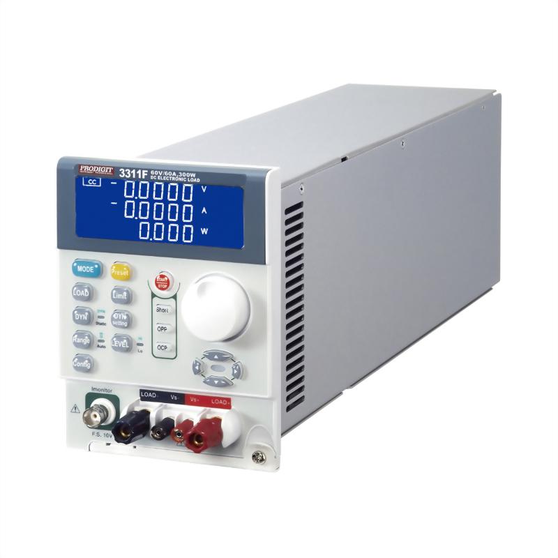 3311F 直流電子負載 60V, 60A, 300W