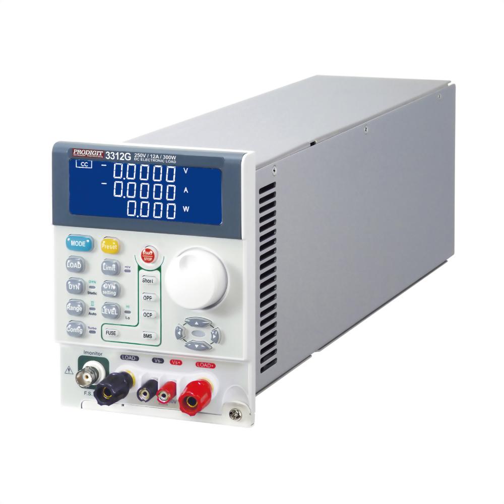3312G DC Electronic Load 250V, 12A, 300W